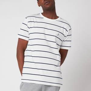 GANT Men's Breton Stripe T-Shirt - Eggshell