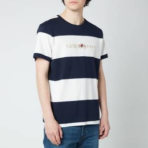 GANT Men's Flag Crest T-Shirt - Classic Blue