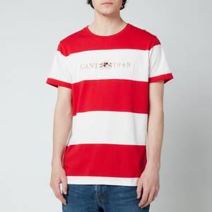 GANT Men's Flag Crest T-Shirt - Bright Red