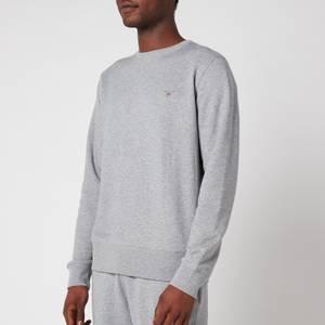 GANT Men's Original Sweatshirt - Grey Melange