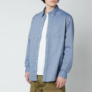 GANT Men's Regular Fit Oxford Shirt - Persian Blue
