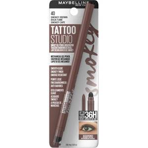 Maybelline Tattoo Liner Smokey Gel Pencil Eye Liner Waterproof 5.12g (Various Shades)