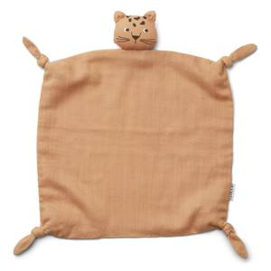 Liewood Agnete Baby Cuddle Cloth - Leopard Apricot