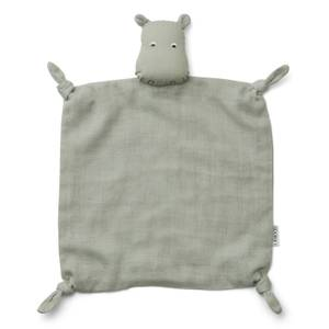 Liewood Agnete Baby Cuddle Cloth - Hippo Dove Blue