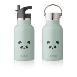 Liewood Anker Kids' Water Bottle - Panda Peppermint