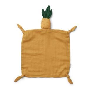 Liewood Agnete Kids' Cuddle Cloth - Yellow Pineapple