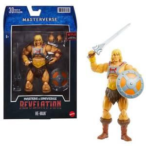 Mattel Masters of the Universe: Revelation Masterverse Action Figure - He-Man