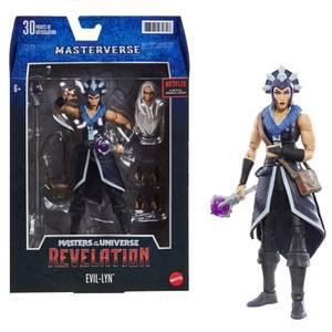 Mattel Les Maîtres de l'Univers : Revelation Masterverse Figurine articulée - Evil-Lyn