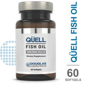 Douglas Laboratories QÜELL Fish Oil EPA/DHA Plus D