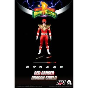 ThreeZero Power Rangers Red Ranger 1:6 Scale Figure (Dragon Shield Version)