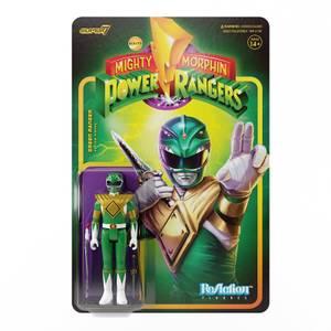 Super7 Mighty Morphin Power Rangers ReAction Figure - Green Ranger