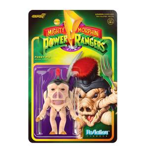 Super7 Mighty Morphin Power Rangers ReAction Figure - Pudgy Pig