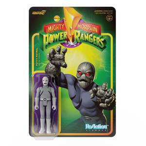 Super7 Mighty Morphin Power Rangers ReAction Figure - Putty Patroller