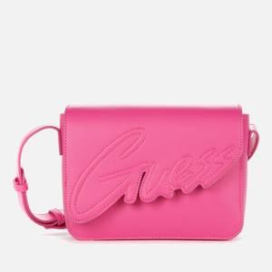 Guess Girls' Ivy Cross Body Bag - Fuchsia