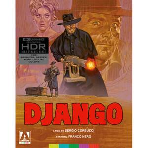 Django - Limited Edition 4K Ultra HD (Includes Texas Adios Blu-ray)