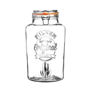 Kilner Clip Top Round Drinks Dispenser 5 Litre