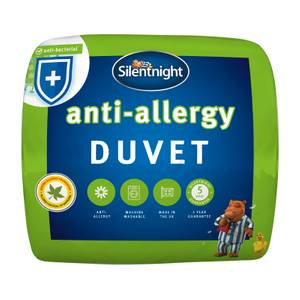 Silentnight anti-allergy 10.5 duvet single