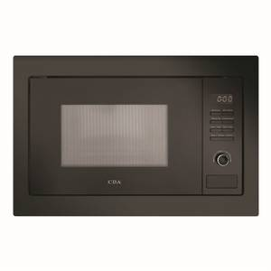 CDA VM231BL Built-in Microwave Oven with Grill - Black