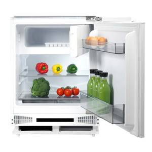 CDA FW254 Integrated Under Counter Larder Fridge with Ice Box - 60cm - White