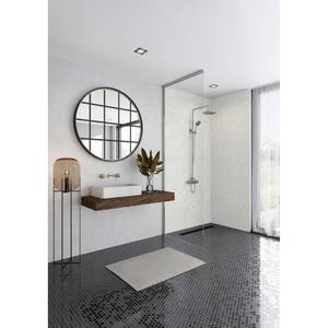 Wetwall Elite Tongue & Grooved Shower Wall Panel Quartzo Bianco - 2420mm x 1200mm x 10mm
