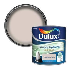 Dulux Simply Refresh One Coat Matt Emulsion Paint - Gentle Fawn - 2.5L