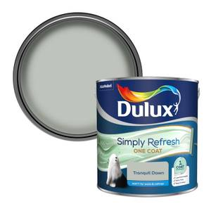Dulux Simply Refresh One Coat Matt Emulsion Paint - Tranquil Dawn - 2.5L
