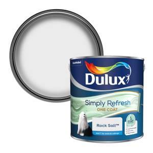 Dulux Simply Refresh One Coat Matt Emulsion Paint - Rock Salt - 2.5L