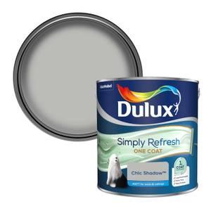 Dulux Simply Refresh One Coat Matt Emulsion Paint - Chic Shadow - 2.5L