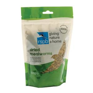 RSPB Mealworms 100g