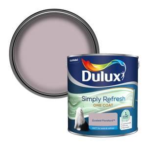 Dulux Simply Refresh One Coat Matt Emulsion Paint - Dusted Fondant - 2.5L