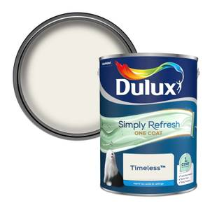 Dulux Simply Refresh One Coat Matt Emulsion Paint - Timeless - 5L