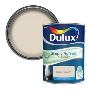 Dulux Simply Refresh One Coat Matt Emulsion Paint - Natural Hessian - 5L
