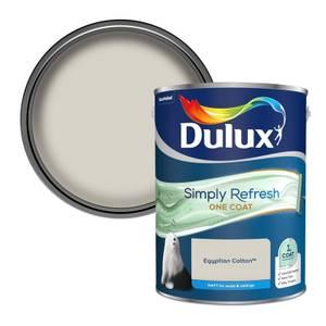 Dulux Simply Refresh One Coat Matt Emulsion Paint - Egyptian Cotton - 5L