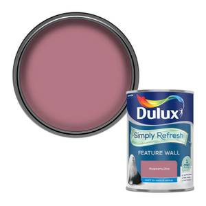 Dulux Simply Refresh Feature Wall One Coat Matt Emulsion Paint - Rasberry Burst - 1.25L