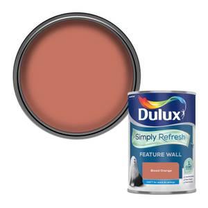 Dulux Simply Refresh Feature Wall One Coat Matt Emulsion Paint - Blood Orange - 1.25L