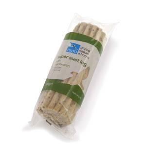 RSPB Super Suet Mealworm Log 500g