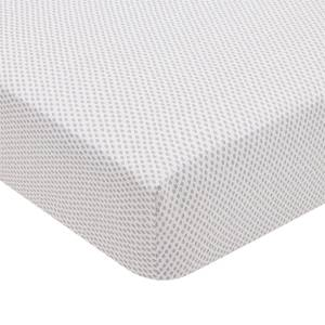 Rae Fitted Sheet Double Bed Heather