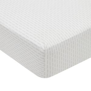Silva Fitted Sheet Super King Size Cloud Grey
