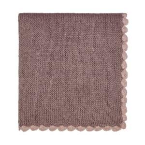 Scala Knit Throw 130X170cm Heather