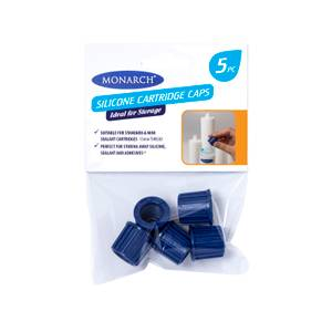 Monarch Silicone Cartridge Caps 5 Pack