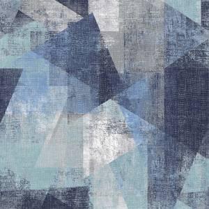 GrandecoLife Perspectives Vincent Blue Wallpaper