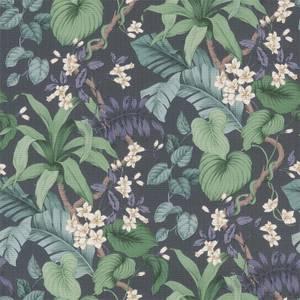 Grandeco Boutique Clarence Vesoule Purple Wallpaper