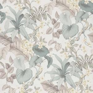 Grandeco Boutique Clarence Vesoule Teal Wallpaper