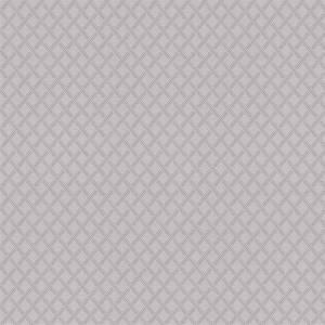 Grandeco Boutique Clarence Roanne Silver Wallpaper