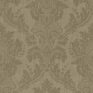 Grandeco Boutique Clarence Limoges Green Wallpaper