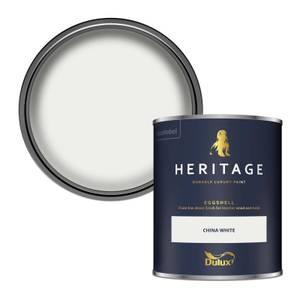 Dulux Heritage Eggshell Paint - China White - 750ml