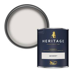 Dulux Heritage Eggshell Paint - Ash White - 750ml