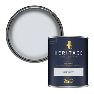 Dulux Heritage Eggshell Paint - Lead White - 750ml