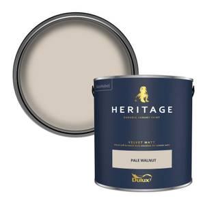 Dulux Heritage Matt Emulsion Paint - Pale Walnut - 2.5L