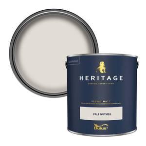 Dulux Heritage Matt Emulsion Paint - Pale Nutmeg - 2.5L